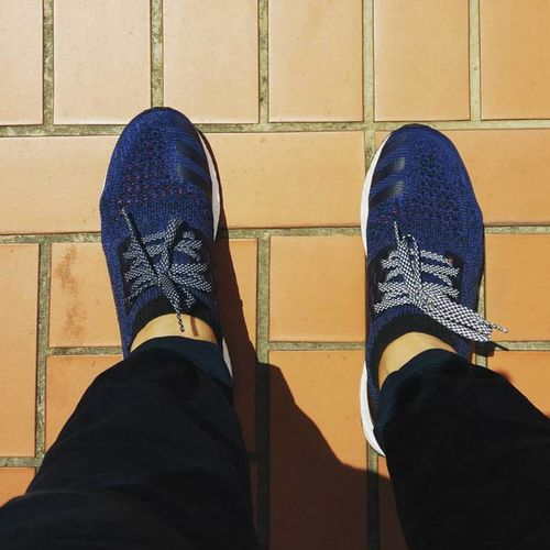 658be15e6da91 NMD   Ultra Boost 3M Reflective Navy Blue Flat Laces