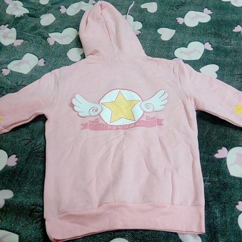 d7612e19e32b Korean High Platform Shoes SD01804 · Cardcaptor Sakura Pink Anime Hooded  Sweater SD01695