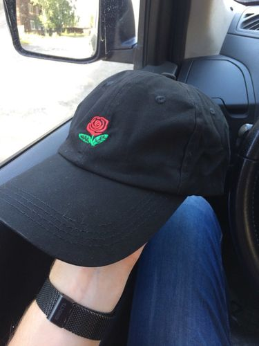 9601130d8e312 Rose Dad Hat.
