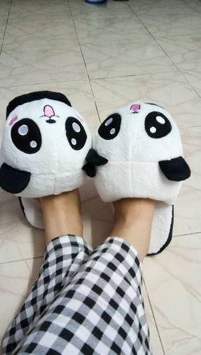 25eebbe5d35 Kawaii Plush Panda Slippers – Mango People