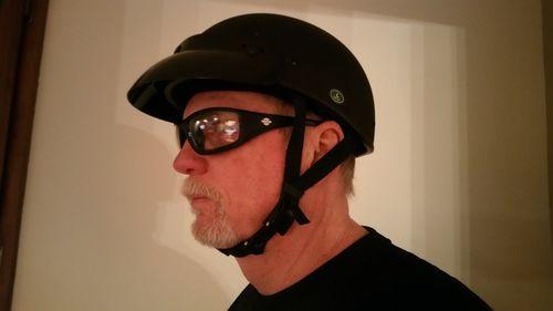 4ab9e1a1336 The Micro Slim Smallest lightest DOT Beanie Helmet - Flat Black ...