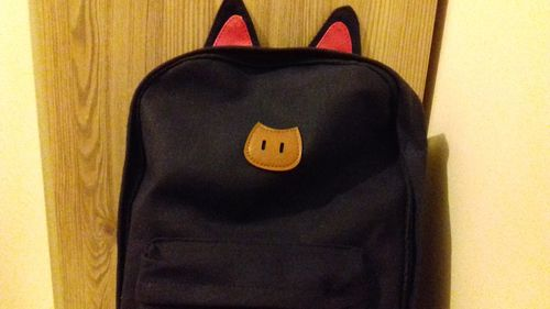 dc516698bfb G-Dragon Beanie · Cats Ears School Backpack