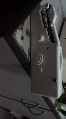 Mini Machine /à Coudre Portable /à Main R/éparation Rapide Adapt/ée aux Rideaux Cuir V/êtements Bricolage DEDC Machine /à Coudre /à la Main 1 Machine