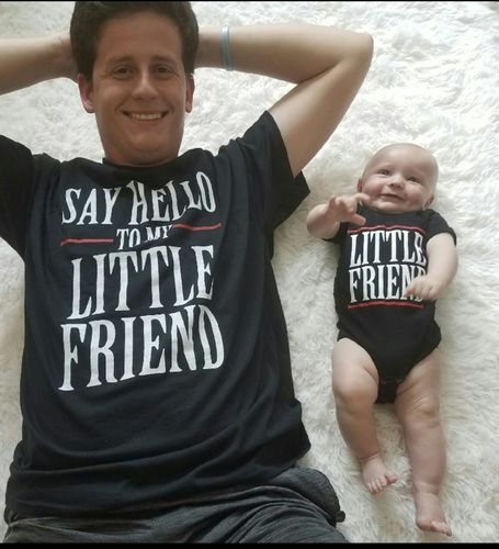 Say Hello to My Little Friend (Matching Shirt Set) - Reviews ee2517939