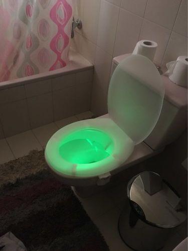 Emilie J. review of Lumière de toilette - détecteur de mouvement