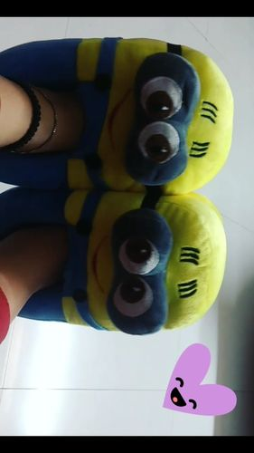 3d253e25e24 Mango People - Reviews. Minion Plush Slippers
