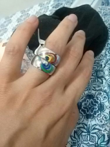 b8a0a7028a LGBT Matching Couple Rings Heart Shaped