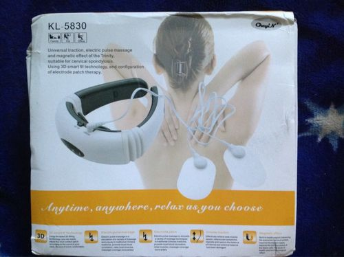 M***o review of Electric Pulse Neck Massager