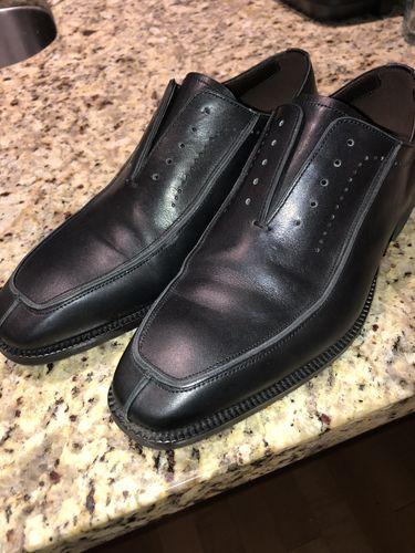 51d9906f4c4 Zander Black Split-Toe Oxford Shoes