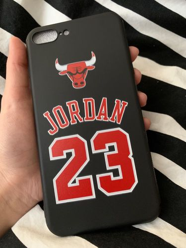 099ca4c3fe4f61 Air Jordan 23 Cover Case For Iphone X Xs Max Xr 10 8 7 6 6s Plus 5 5s Se  Soft Matte Silicone Phone Cover Bulls Sports Nba Coque