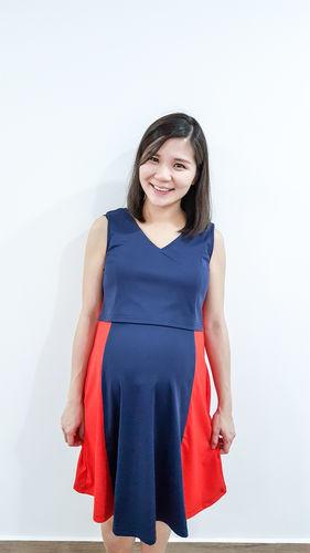 1aab55ece7893 SALE Gwen Knitted Bodycon Nursing Dress. Cheryl C.