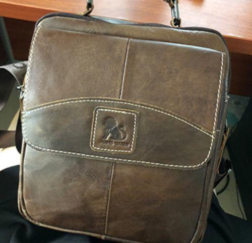 Male Leather Crossbody Shoulder Bag ea30603d4cecb