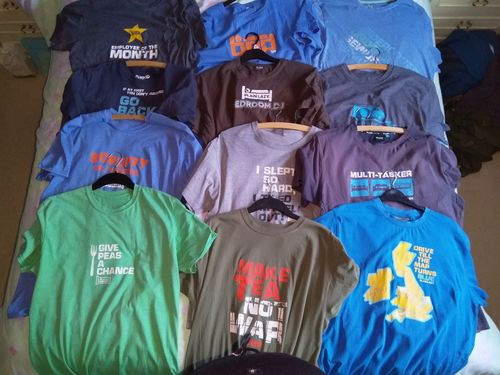 c3ad1264 Plain Lazy - Give Peas a Chance Heather Irish Green Classic Mens T Shirt