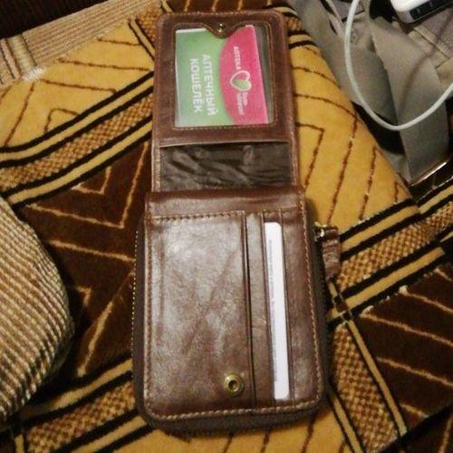 RFID Antimagnetic Vintage Genuine Leather Card Holder Trifold Wallet For Men 2f7f6001fefa4