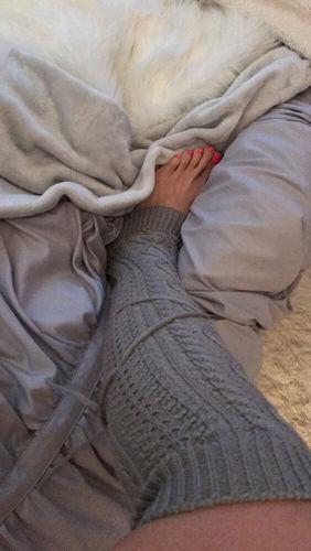 59bd499021e Solid Thick Winter Warm Knee Length Socks - Reviews