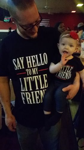 7a10073bf Say Hello to My Little Friend (Matching Shirt Set) - Reviews