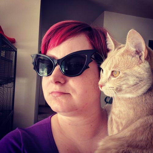 27f7c4f348 Vamp Batwing Cat-eye Sunglasses Set in Black