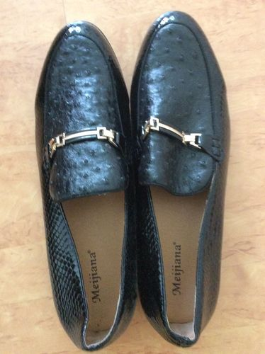 dac851e6a0559 Lizard Ostrich Pattern Mixed Men Loafer Shoes