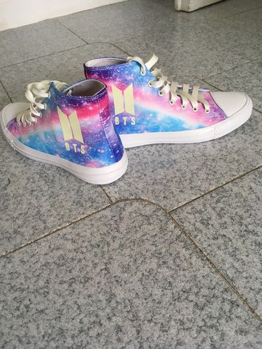 BTS Pastel Universe Luminous Sneakers