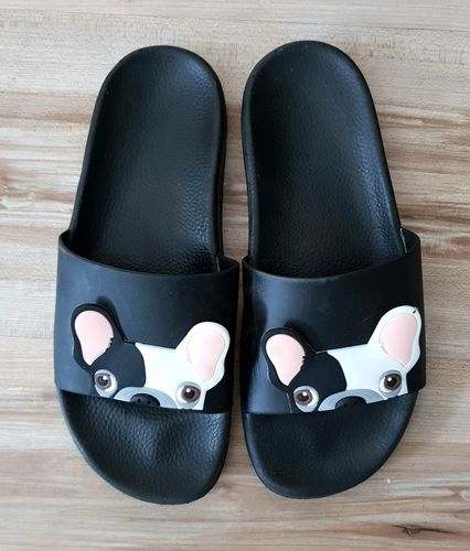 3562fa264e9b Frenchie World® Women French Bulldog pool sliders - Reviews