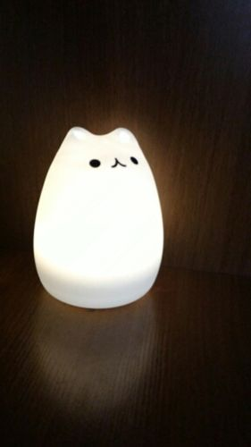 Darla M. review of Kitty LED Night Light