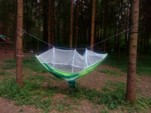 219358395a1 Outdoor Breathable Hammock With A Mosquito Net – The Colossal Deals