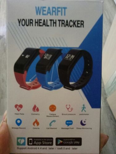 Blood Pressure Smart Wristband - Heart Rate, Blood Oxygen, Sleep Tracker