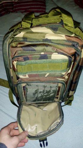 T***K review of Camping Hiking Rucksacks Backpack 30L