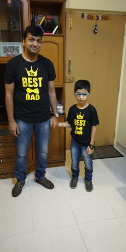 Best Dad And Son Black Tees 34856b9c09e8