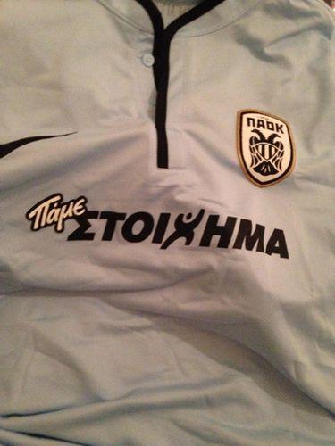 eedf42c0d PAOK FC Third Soccer Nike Fußball Original Jersey Football Shirt 14 15 Top  Original Bnwt