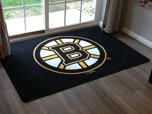 Boston Bruins Nhl Team Spirit Rug
