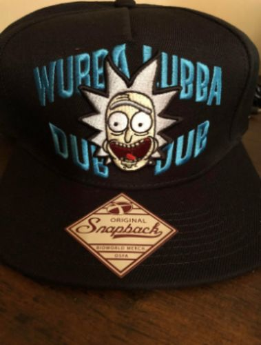 d1049548773 Rick   Morty Wubba Lubba Dub Dub Black Snapback Cap 10-Inch Hat - Reviews.  By Crazy Enthu · Go to store. Liza
