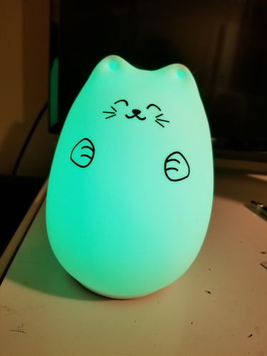 Sara C. review of Kitty LED Night Light