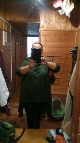 87d63a4671a Nu Goth Hooded Tunic Cloak