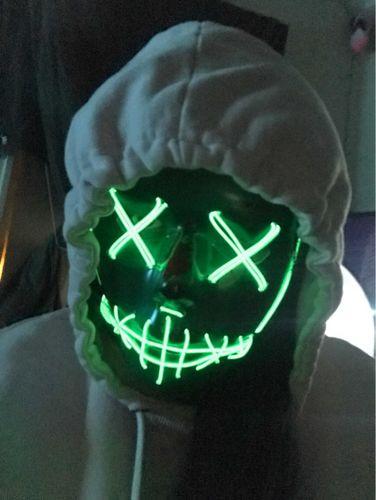 Spooky LED Mask