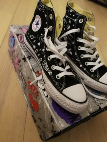 6762a03bfe42 BTS BT21 X CONVERSE Official Shoes (3 Styles) - Reviews. By BTS MANIA SHOP  · Go to store. Erica M.