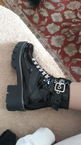 680dea6a51e7 Fashion Waterproof Middle Height Heel Boots - Reviews