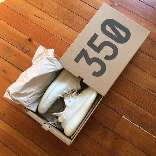 ef9f9adad8c UA adidas Yeezy Boost 350 V2 Cream Triple White - Reviews