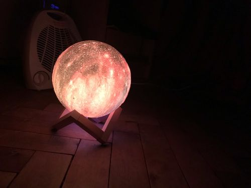 Elliott Mcgee review of Galaxy Print Moon Lamp