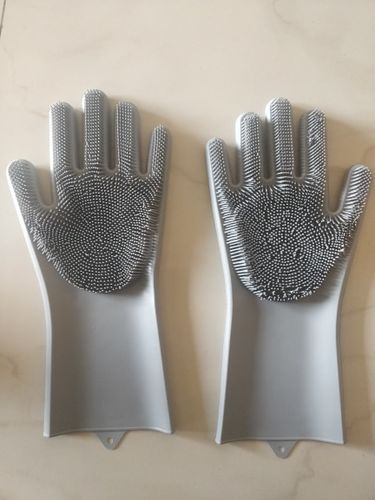 Audrey Campbell review of Silicone Scrubber Bristly Gloves