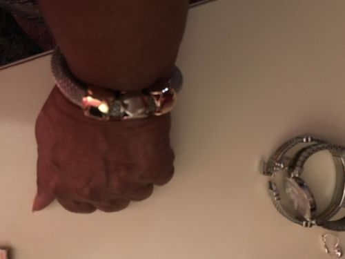 Gwendolyn M. review of Cube Charms Metal Bracelet