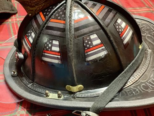 4d9275b818e Subdued American Flag Helmet Tetrahedrons - Reviews. By American Responder  Designs · View price. Noah M.
