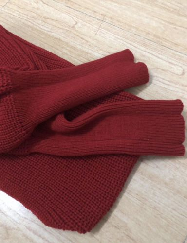Anisha V. review of Crochet Sweater-Scarf With Sleeves