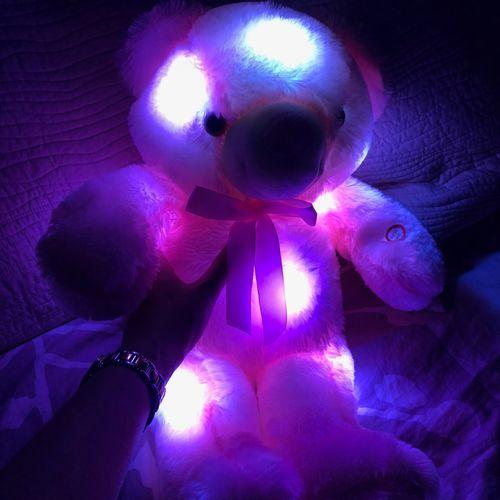 Sidney L. review of Glow Bear - Light Up Teddy Bear