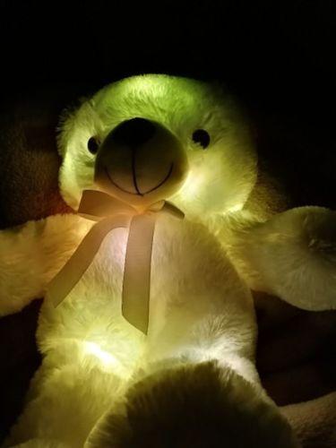 Jamal D. review of Glow Bear - Light Up Teddy Bear