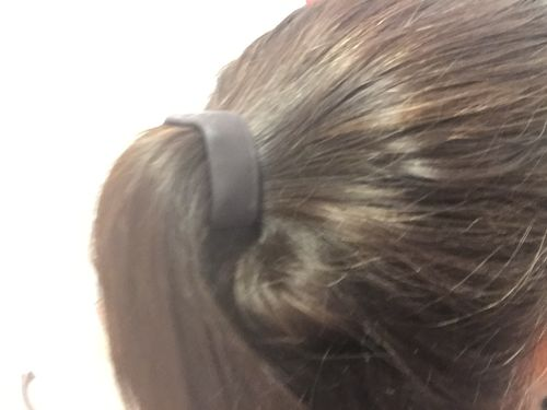 Unique Women Hair Cuff Wrap Ponytail Metal Holder Rings Tie Elastic Hairs SP