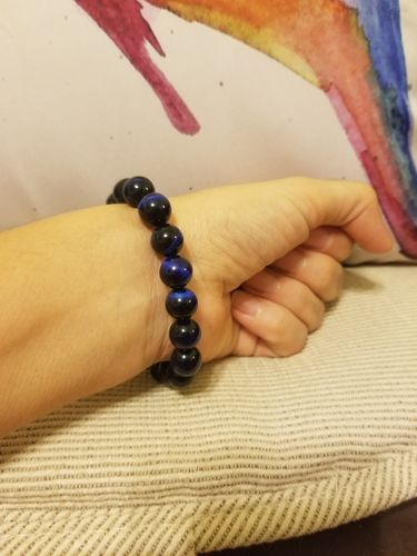 lissette b. review of Blue Tiger Eye Buddha Bracelets