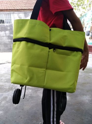 Gant S. review of Shopping bag folding green bag