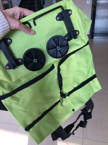 Nadine A. review of Shopping bag folding green bag
