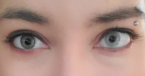 Hallie C. review of TTDeye Polar Lights Grey Colored Contact Lenses